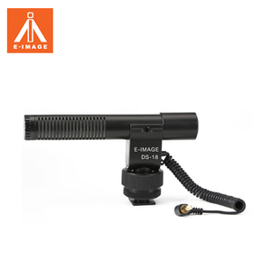[E-IMAGE]  DS-18 PROFESSIONAL ON-CAMERA MICROPHONE